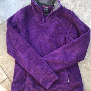 The North Face Tops - Women's Fuzzy North Face Pullover- Small